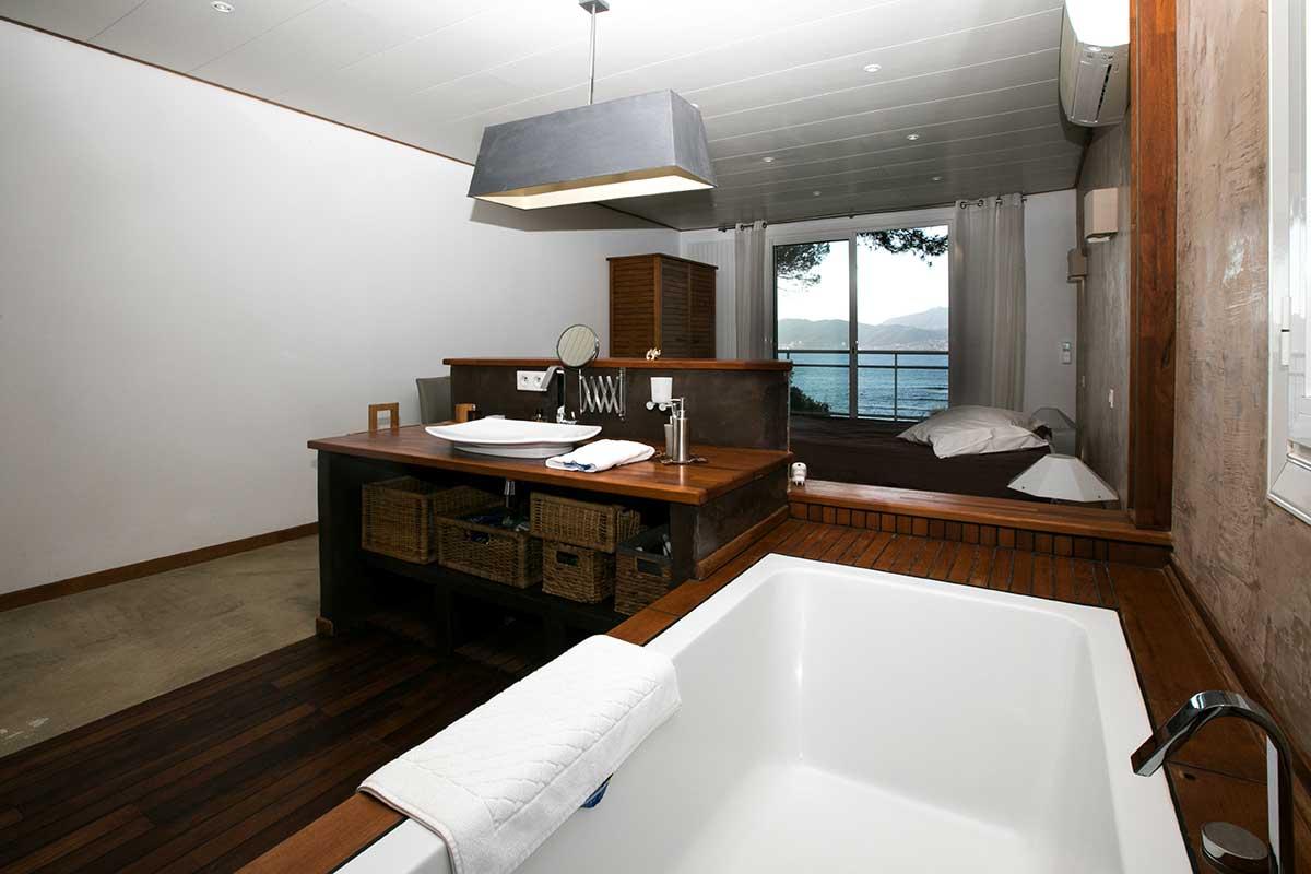 location villa vacances porticcio salle de bain