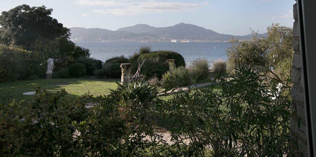 location villa vacances porticcio vue