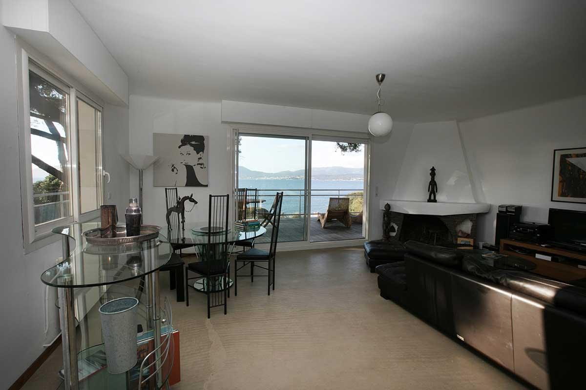 location villa vacances porticcio sejour etage