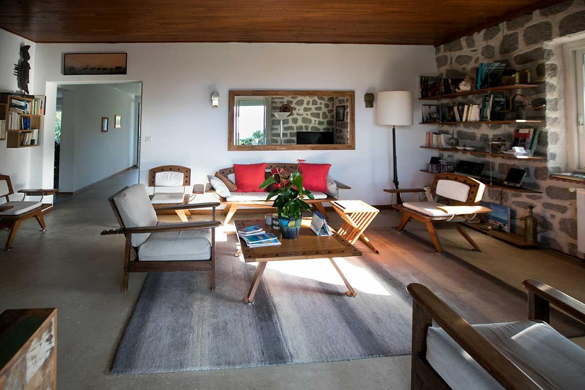 location villa vacances porticcio salon