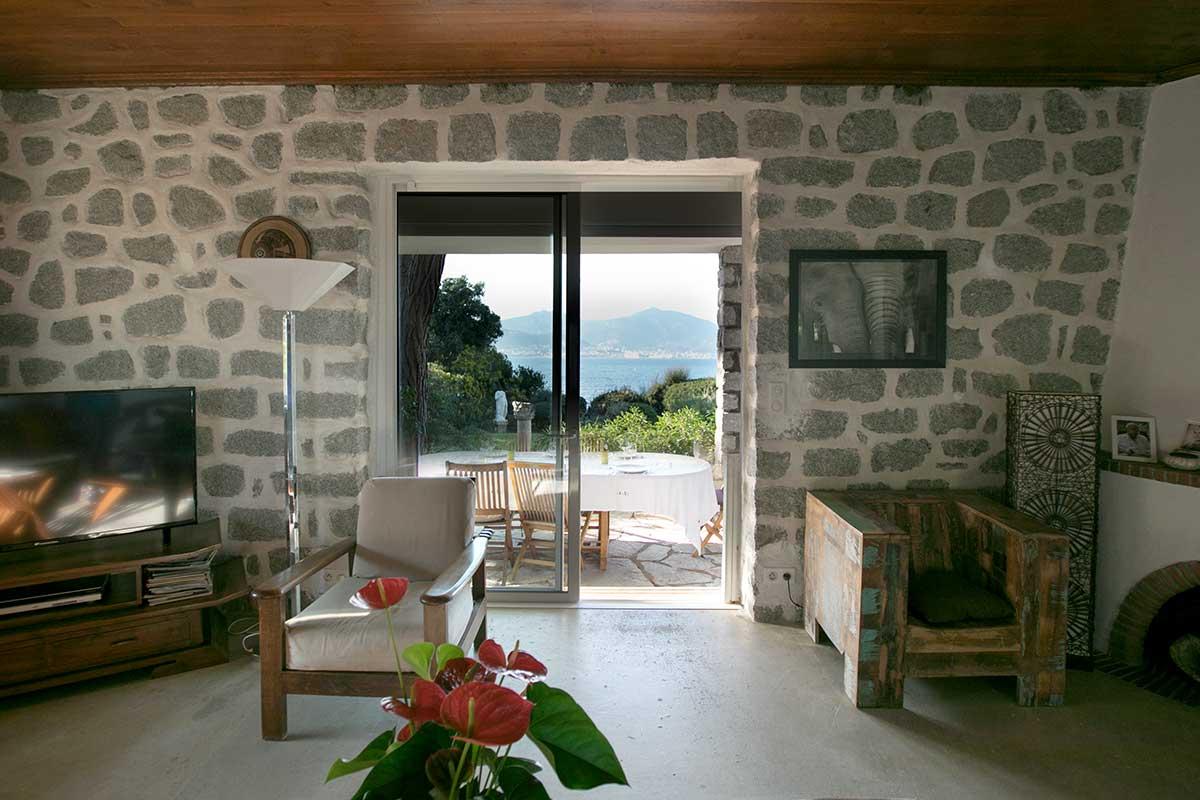 location villa vacances porticcio sejour ext