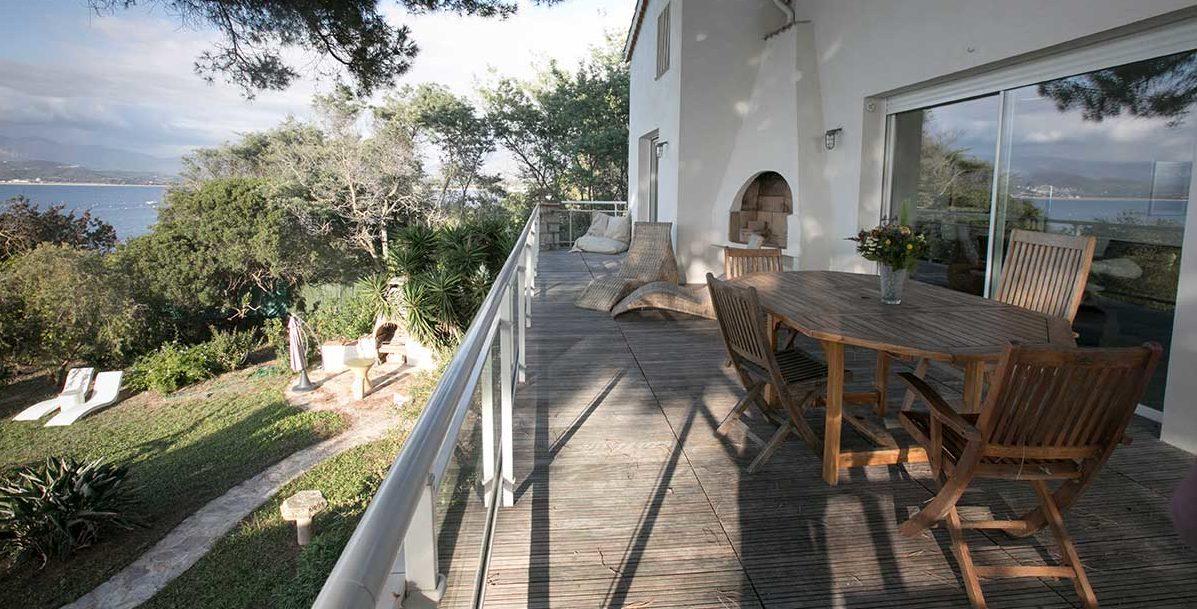location villa vacances porticcio bbq
