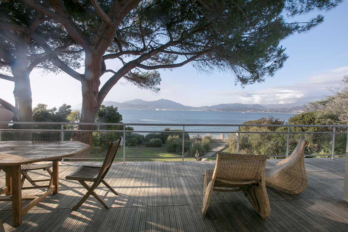 location villa vacances porticcio terrasse